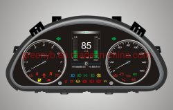 Qualitäts-elektrischer Fahrzeug-Gedankenstrich-Vorstand/des Kombinations-Instrument-Messinstrument-/Lithium Erzeugung 2 Batterie-der Kombinations-Meter/705