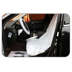 Всеобщей безопасности одноразовой пластиковой очистить машину чехлы сиденья