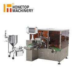 Handdesinfizierer-Seifen-Zufuhr-flüssige Füllmaschine-Verpackmaschine für Verkauf