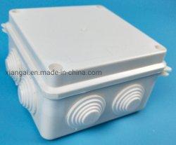 IP65 100 * 100 * 70mm ABS 플라스틱 방수 정션 박스 맞춤형 실외 전기 연결 박스 케이블 분기 케이스 정션 박스 제조업체