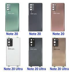 قطع غيار هواتف محمولة بالجملة لـ Samsung Galaxy Note 20 / ملاحظة 20 باب البطارية الفائقة