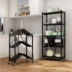 Scaffalatura in lamiera d'acciaio per la camera da letto/cucina/soggiorno