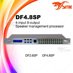 8-out4 에서 사운드 시스템 디지털 직업적인 오디오 DSP 처리기 Df4.8sp
