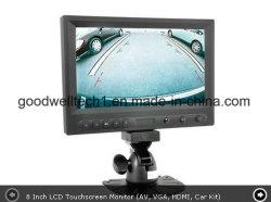 "16: 9 de 8"" táctil LCD de pantalla panorámica de Monitor de coche con Auto Espejo contacto"