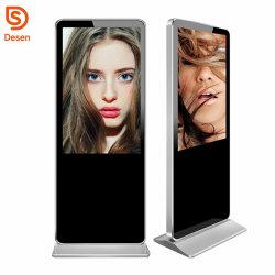 50/55 pouce 1080P LCD TV en plein air piédestal Media Player Digital Signage Affichage à écran tactile de la publicité avec le WiFi