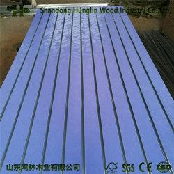 Multicolor de alta calidad de PVC de melamina y MDF ranurada junta