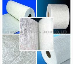 C de fibra de vidrio vidrio picado Strand Mat 450 g/m² polvo adheridos