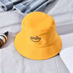 Cappello su ordinazione della benna del cotone di marchio del fornitore della Cina per il commercio all'ingrosso