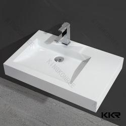 さまざまなデザインCorianの固体表面の虚栄心デザイン浴室の流し