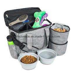 사발 식량을%s 항공 애완견 고양이 여행 운반물 책가방 부대