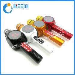 Il karaoke mobile Bluetooth senza fili della casa calda KTV di vendita canta il microfono dell'altoparlante di canzone