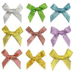 Ruban de nylon de gros poils métalliques Bow Bow Accessories Gift-Dy12003 10mm