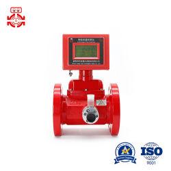 Le débitmètre à turbine à gaz naturel avec Output-Flow 4~20mA ou impulsion mètres