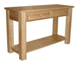 Bin-04 UK Style Morden Furniture Solid Oak Console Console