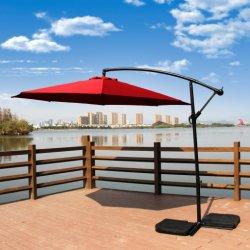 Big Banana en acier de plein air de pliage Parasol Parasol Cantilever Sun Table