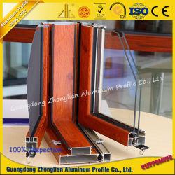 Les profils de revêtement en poudre profilé en aluminium pour la Fenêtre & Porte
