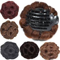 Haute résistance à la chaleur de multiples couleurs personnalisées synthétique de multiples dimensions perruque