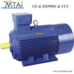 GOST Asynchrone AC van de Norm Elektrische Motor voor Versnellingsbak van de Compressor van de Lucht van de Pomp van het Water van de Ventilator van de Ventilator de As