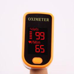 Impuls-Fühler-Blut-Sauerstoff-Sättigungs-Monitor des Fingerspitze-Impuls-Oximeter-SpO2 mit tragendem Fall und Abzuglinie-Lithium-Batterie