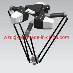 De industriële Parallelle Automatische DeltaRobot van de Spin voor de Verpakking van de Doos