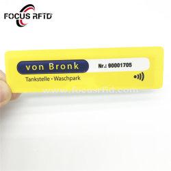 Imprimible de la fábrica de UHF RFID EPC Gen2 Papel de transferencia térmica de etiquetas las etiquetas de prendas de vestir