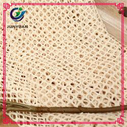 Polyester Spandex Weft Knitting Bulk Lace Tecido para Venda