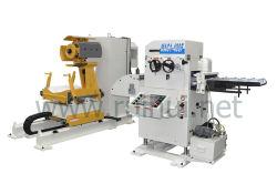 Máquina de automatización de la plancha con NC y alimentador de servo Uncoiler su uso en la máquina de prensa