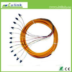 Amorce en fibre optique LC SM 12 coeurs coeurs mm 6SC