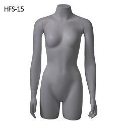 熱い販売の耐久のガラス繊維のメスの上体の表示胴のマネキン