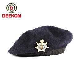 Хорошего качества 100% шерсть военных береты для полиции Soilder Армии