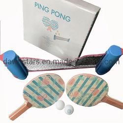 La racchetta 2020 di Enttertainment di ping-pong del reticolo del fenicottero dovunque ha impostato