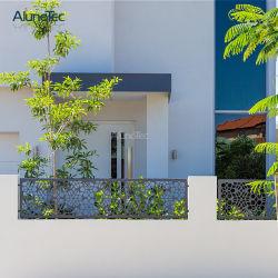 Populärster Schnitt-Aluminiumblumen-Zaun Laser-2019 für Dekoration