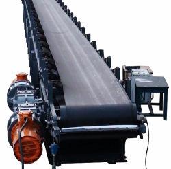 Convoyeur à courroie en caoutchouc fabricant, de la courroie de pierre Système de convoyage