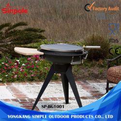 屋外BBQのグリルの喫煙者の携帯用木炭バーベキュー