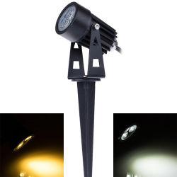 Rasen-Licht-12V im Freien LED Spitzen-Licht 3W des Garten-Rasen-Lampen-Licht-wasserdichtes der Landschaftled Landschaftspunkt-des Licht-IP65