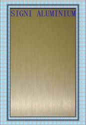 양극 처리된 금 솔 완료 알루미늄 장 코일