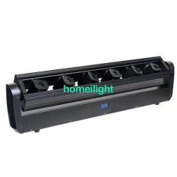 Портативный 6 Глаза RGB 3 в 1 Цветной свет лазера перемещение лазерного LED этапе DJ Disco лампа