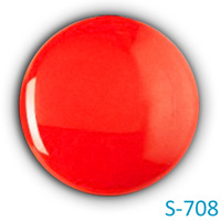 Включение ярко-красного пигмента
