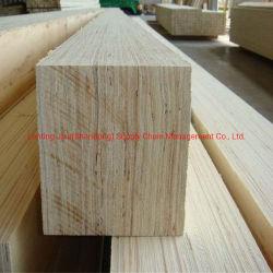 La pellicola del pioppo/Rubberwood/della betulla ha affrontato gli strati del compensato del LVL per l'imballaggio della costruzione della mobilia