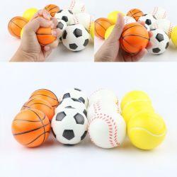 أكتيارير الرياضة كرات الإجهاد المرح رغوة الكرة 2.5 بوصة Relaxable الإجهاد الكرات التي يتم تخفيها