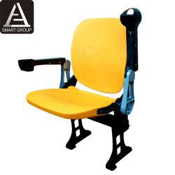 Neue Art VIP-Kipp-HDPE Sitze mit Falten-unten Armlehnen-und Becherhalter-Stadion-Stuhl