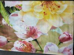 Weiße Blumen-Muster-Bettwäsche-Blatt für Hauptgewebe