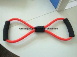 8 формы дешевые йога пилатес осуществлять подготовку спортзал резиновые сопротивление осуществлять Band трубки (CPBB-001)