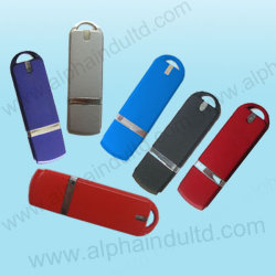 Lecteur Flash USB en plastique personnalisé avec le logo OEM (ALP-002U)