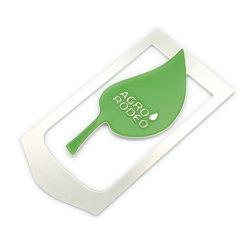 Novità Promozionale forniture per ufficio regalo carta artigianale in metallo laminata personalizzata Segnalibri clip in smalto morbido per libri (A2111018)