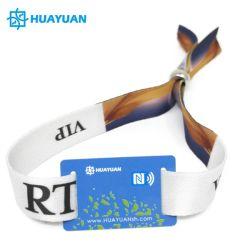 Concert de musique de l'événement MIFARE jetables Classic 1K Tissu Bracelet Bracelet RFID