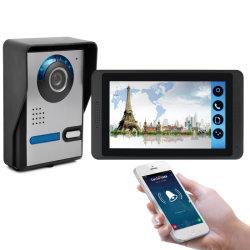 WiFi TCP/IP 7 inch Video door Phone Video Intercom Video deurbel Ondersteuning voor toegang tot smartphones