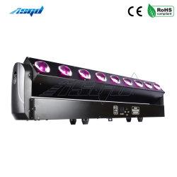 Testa mobile con fascio a barra 9X40W con LED Lyre Illuminazione palco DMX DJ Home Dance Faisceau
