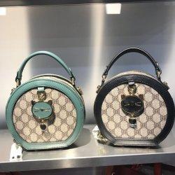 Nueva llegada de las mujeres al por mayor bolsos de lujo para señoras con forma redonda