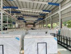 Pulido de Piedra Natural/Pulido/Antique/Sandblasted Volakas barato para los interiores de mármol blanco///piso interior decoración mural/fondo